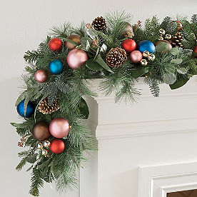 Sugarplum Cordless Garland