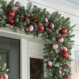 Let It Snow Cordless Garland