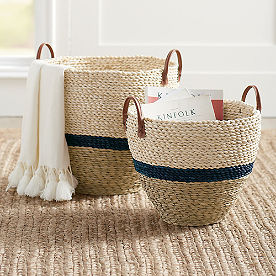 Drexel Woven Basket, Set of Two