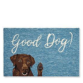 Friendly Dog Door Mat
