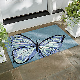Butterfly Door Mat