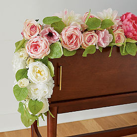 Floral Ombre Garland