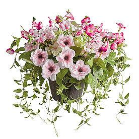 Pink Blooming Blossom Urn Filler