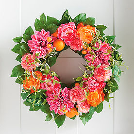Tooty Fruity Wreath 26in