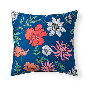 Marlena Abstract Floral Outdoor Pillow