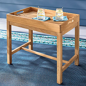Thelma Teak Side Table