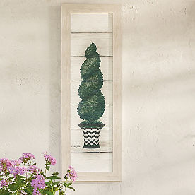 Jenna Topiary Outdoor Wall Decor