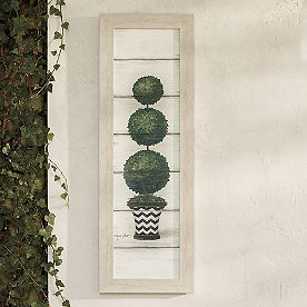 Lucy Topiary Outdoor Wall Decor
