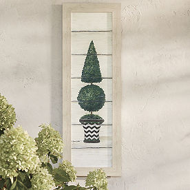 Maddie Topiary Outdoor Wall Decor