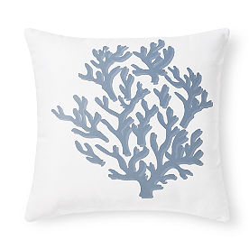 Starfish Coral Outdoor Pillow