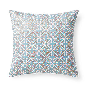 Starfish Geometric Outdoor Pillow