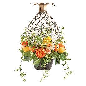 Citrus Floral Urn Filler