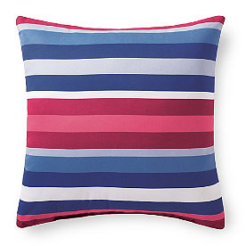 Austin Blue Stripe Outdoor Pillow
