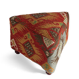 Izmir Triangular Kilim Ottomans