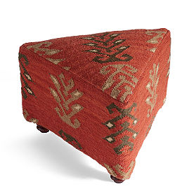 Mersin Triangular Kilim Ottomans