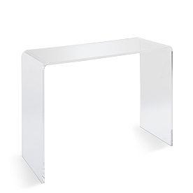 Chamonix Acrylic Tall Console Table