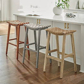 Augusto Backless Bar & Counter Stool