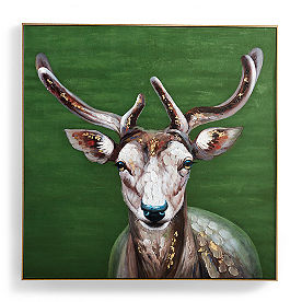 Forest Deer Wall Art