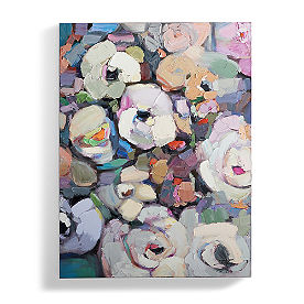 Violets in Bloom Wall Art