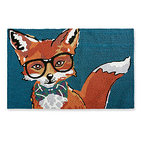 Dapper Fox Door Mat