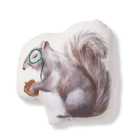 Squirrel Shaped Pillow