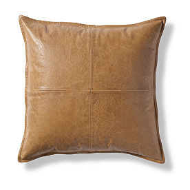 Sutton Leather Pillow