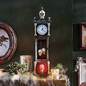 Skeleton Tabletop Clock