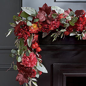Rustic Floral Garland