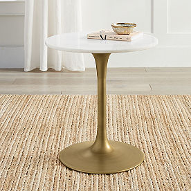 Rene Marble Top Side Table