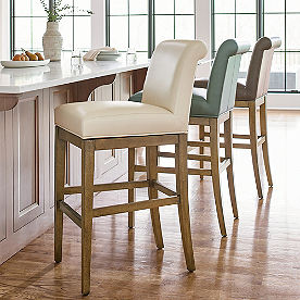 Penelope Lowback Swivel Bar & Counter Stool