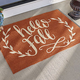 Hello Fall Mat