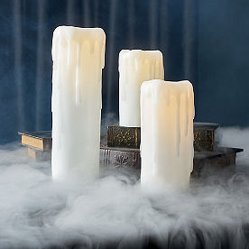 Dripping Wax Candle