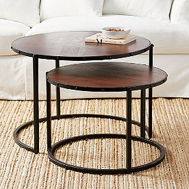 Blake Nesting Coffee Tables, Set of Two