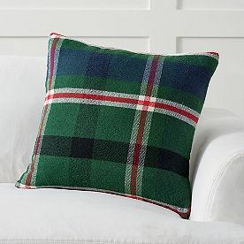 Plaid Flannel Pillow