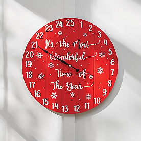 Countdown to Christmas Wall Decor