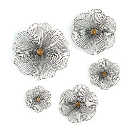 Hawaiian Wild Flowers, Set of Five
