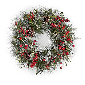 First Frost Cordless Wreath