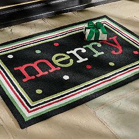 Merry Dots Door Mat