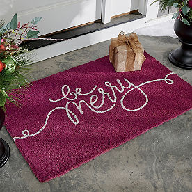 Be Merry Coir Door Mat