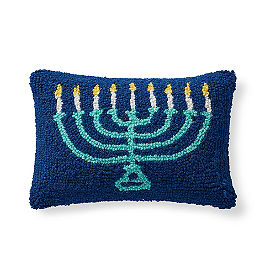 Hanukkah Pillow, Menorah