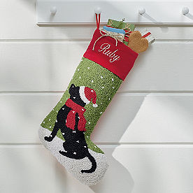 Christmas Companion Stocking, Black Labrador