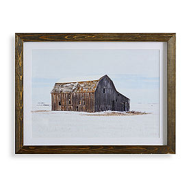 Kansas Barn Wall Art