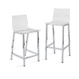 Arlo Acrylic Bar & Counter Stool