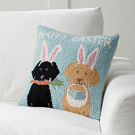 Easter Pups Pillow