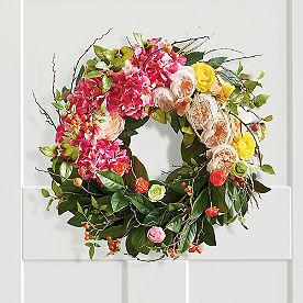 Chloe Floral Wreath