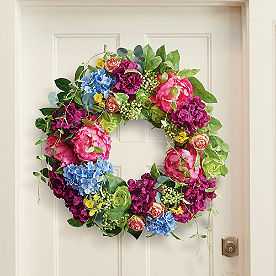Summer Party Wreath