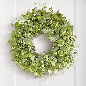 Lush Leaves Wreath