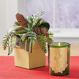 Lux Holiday Candle, Noble Fir