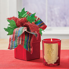 Lux Holiday Candle, Nutcracker