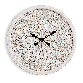 Annalee Carved Clock